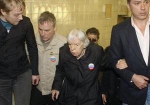 Ударившего 82-летнюю правозащитницу Алексееву отпустили из-под стражи