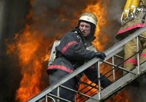 30 человек эвакуированы при пожаре в жилом доме в Киеве