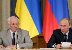 Ъ: Противоречие формулы и содержания. Путин и Азаров окончательно разошлись в цене на газ