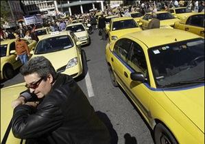 Польские таксисты угрожают устроить транспортный коллапс во время Евро-2012
