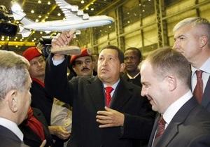 Чавес хочет прыгнуть с парашютом в компании Януковича, Путина, Медведева и Лукашенко