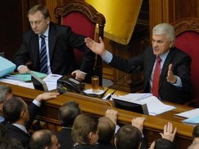 Литвин: Если БЮТ заблокирует Раду, коалиции не будет