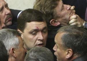 СМИ: Министр финансов рассек бровь депутату от оппозиции