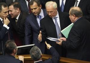 В БЮТ рассчитывают, что члены коалиции помогут отправить Азарова в отставку