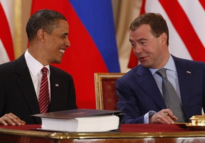Фотогалерея: Сокращение следует. Обама и Медведев подписали Договор по СНВ