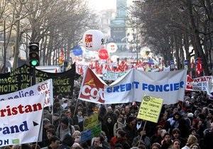 Во Франции начинается масштабная забастовка против повышения пенсионного возраста