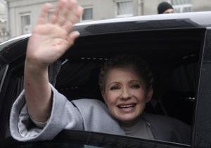 Тимошенко осуществляет рабочую поездку в Волынскую область