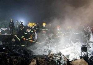 Причиной авиакатастрофы в Китае стали плохие погодные условия
