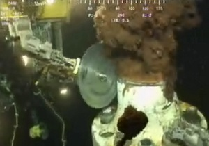 ВР удалось отрезать поврежденный участок трубы в Мексиканском заливе