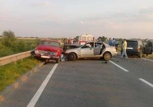В первом полугодии количество погибших на дорогах Украины снизилось на 26,8%