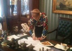 Тимошенко хочет написать мемуары