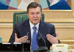 Янукович: Мы предлагаем сотрудничество с Таможенным союзом на секторальном уровне