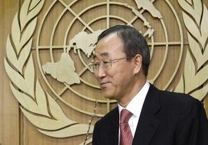 Генсек ООН отправился в Чили