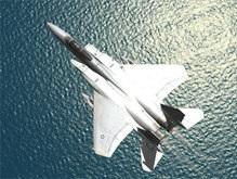 Истребители ВВС США столкнулись над Мексиканским заливом