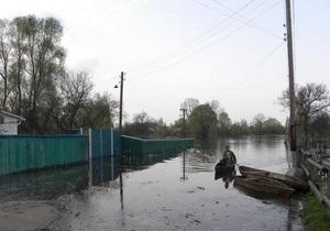 новости Черниговской области - потоп - наводнение - паводок - В Черниговской области остаются подтопленными несколько десятков домов