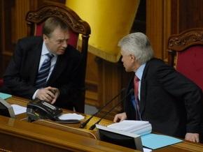 Литвин заступился за Лавриновича перед БЮТ