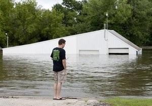 В Айове из-за прорыва дамбы разрушены 200 строений