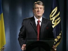 Поставки газа: Секретариат Ющенко ответил Путину
