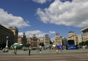 В Киеве 24 августа ограничат движение транспорта и закроют станцию метро Майдан Незалежности