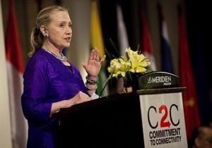 Хиллари Клинтон посетит с рабочим визитом Египет
