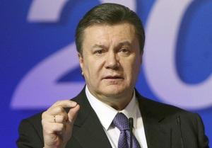 Янукович просит Саакашвили отозвать грузинских наблюдателей