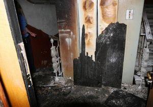 В Киеве на Крещатике в жилом доме произошел пожар