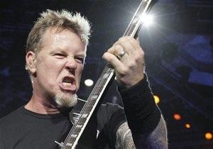 Лидера группы Metallica обворовали во время ужина в московском ресторане