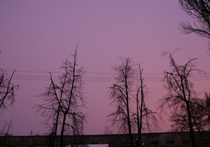 Синоптики объяснили причины розового заката в Киеве