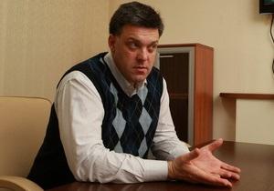 Тягнибок ответил на вопросы читателей Корреспондент.net