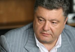 Порошенко рассказал Корреспонденту, почему согласился войти в правительство Азарова