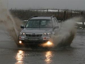 Рекордный пробег на Subaru Forester продолжается