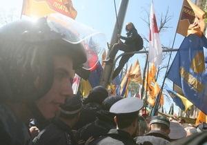 Стецькив: Реакция властей на Народный марш протеста покажет, как будет двигаться украинская история