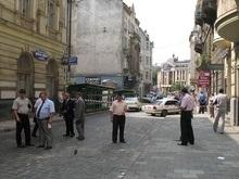 Убийство в центре Львова: найдена машина киллера