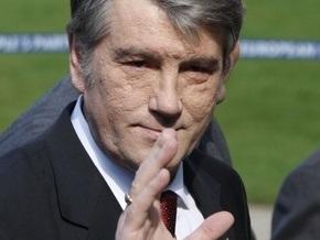 Ющенко поздравил юношескую сборную Украины по футболу с победой