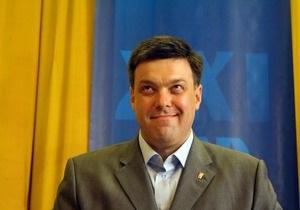 Тягнибок: Нужно думать, как увеличить территорию Украины
