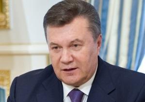 Янукович о запрете пропаганды гомосексуализма: Мы должны считаться с точкой зрения верующих