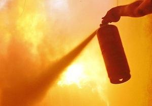 В Ровенской области на трассе Киев-Чоп загорелся грузовик с поролоном
