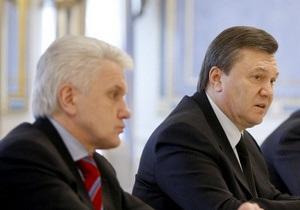 Янукович и Литвин желают украинским матерям семейного тепла по случаю Дня матери