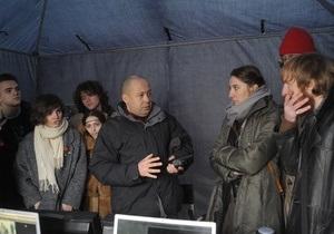 В Украине прошли съемки фильма Под электрическими облаками