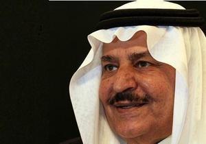 Умер 78-летний наследник престола Саудовской Аравии