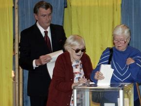 Дело: Ющенко ветировал закон о выборах президента