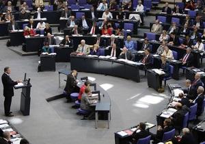 Немецкие депутаты смогут пользоваться iPad на заседаниях