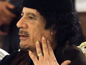 Каддафи установит палатку под окнами Ющенко, а охранять его будут женщины