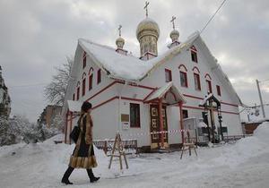 Газета: В Киеве церковь продает места на кладбище за тысячу гривен