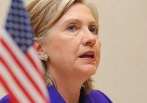 Клинтон: США по-прежнему за жесткие санкции в отношении Ирана