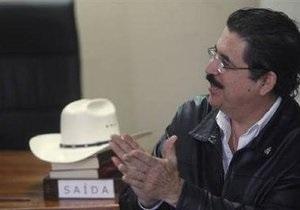 Избранный президент Гондураса пообещал разрешить Селайе выехать за рубеж
