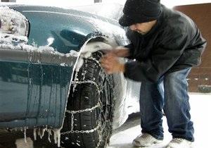 ГАИ предупреждает водителей об ухудшении погодных условий и советует поставить зимнюю резину