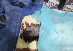 ООН требует провести расследование гибели Каддафи