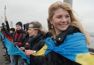 Завтра на мосту Патона в честь Дня Соборности киевляне образуют живую цепь