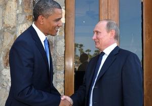 Путин  весьма позитивно  воспринял победу Обамы на выборах
